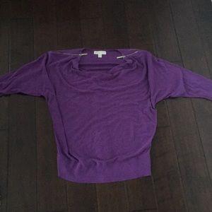 Purple Michael Kors sweat shirt